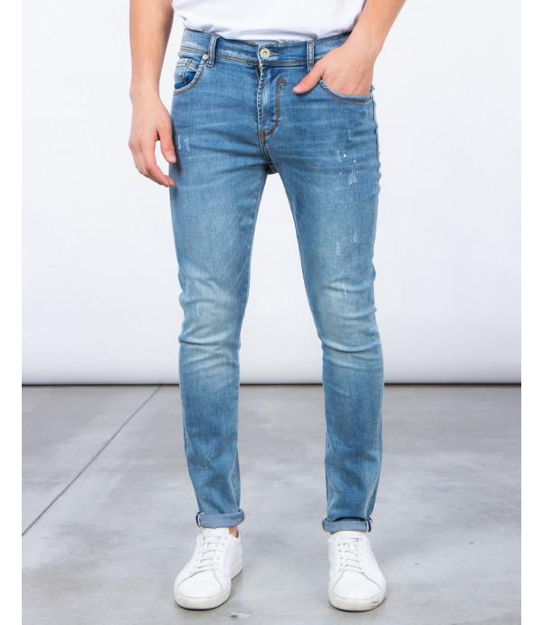 Jeans super skinny lavaggio chiaro
