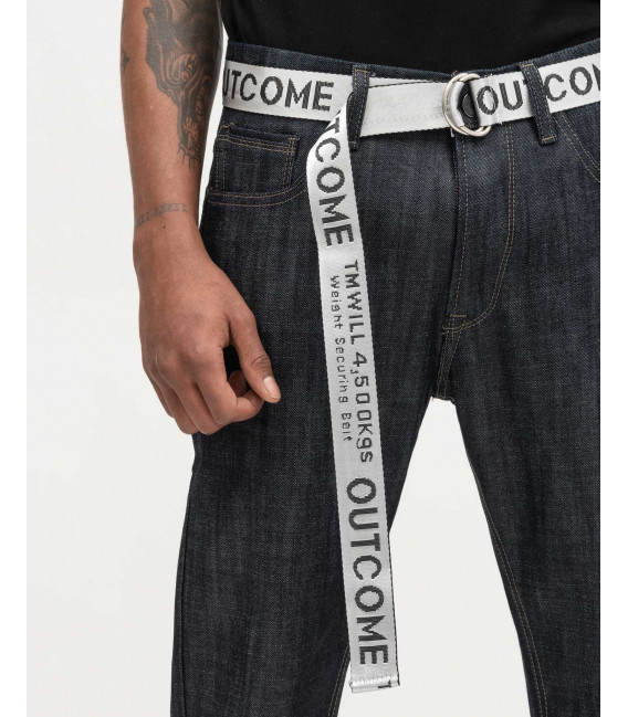 Jeans rinse carrot fit