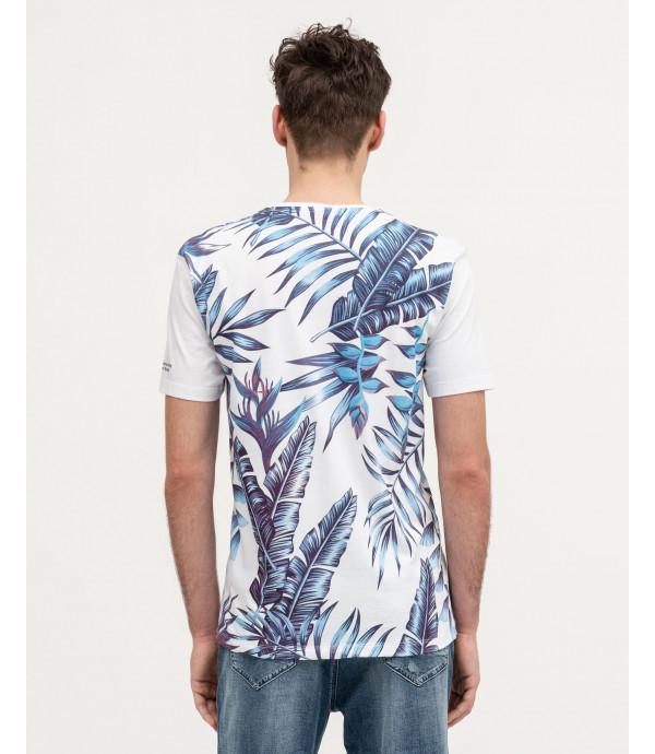 Tropical prints shirt