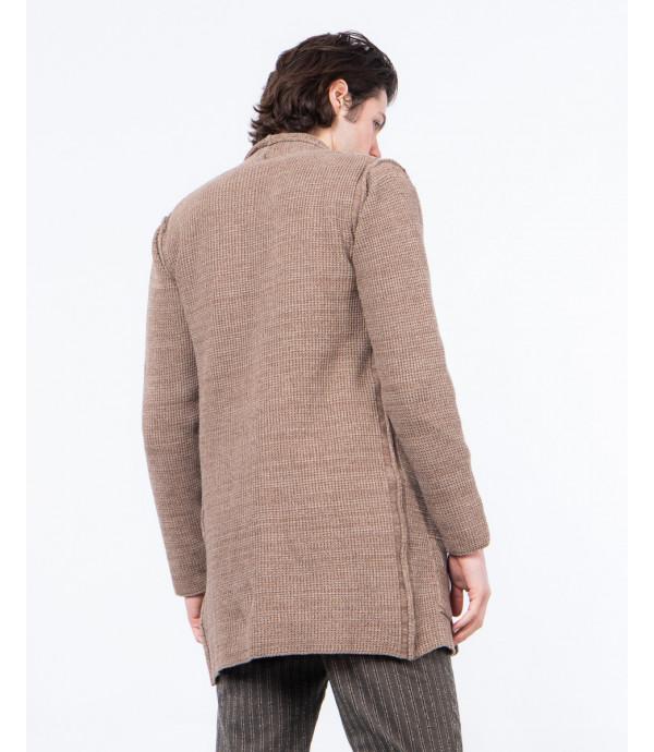 Cardigan lungo in maglia