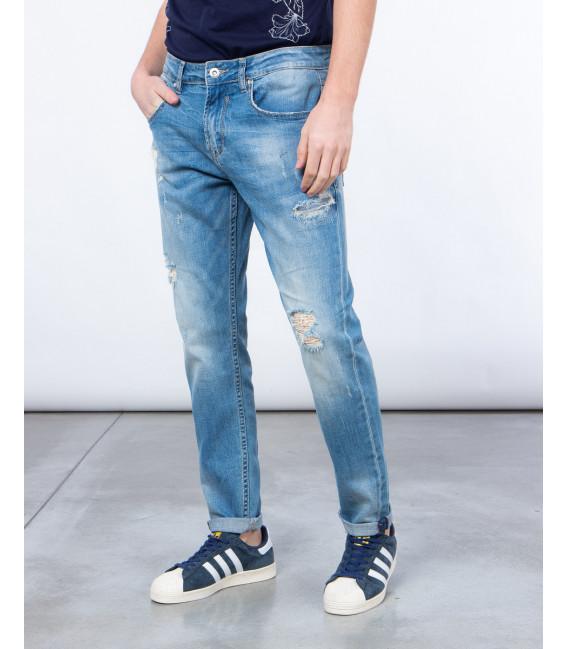 Jeans slavato regualr fit