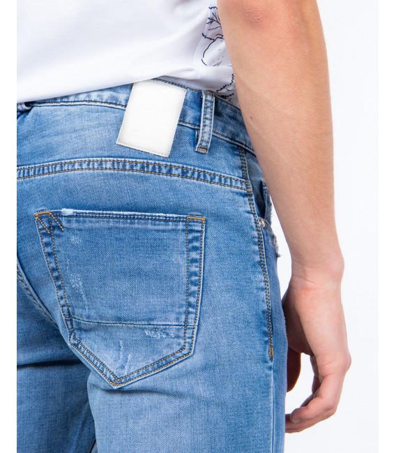 Jeans skinny fit lavaggio chiaro