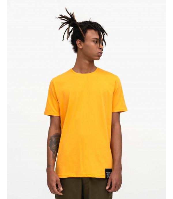 T-shirt minimal mandarino