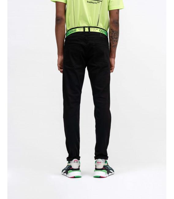 Jeans skinny fit neri stretch