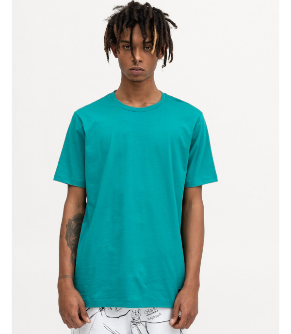 T-shirt minimal smeraldo