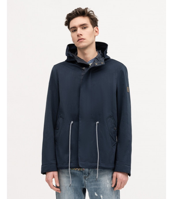Parka in technical fabric
