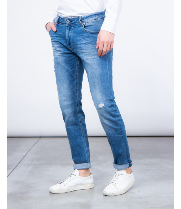 Jeans regular fit slavati