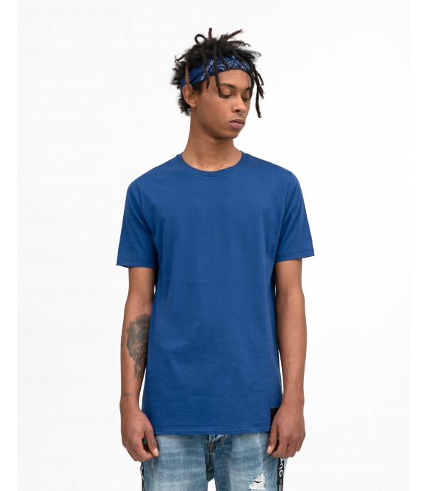 T-shirt basica blu