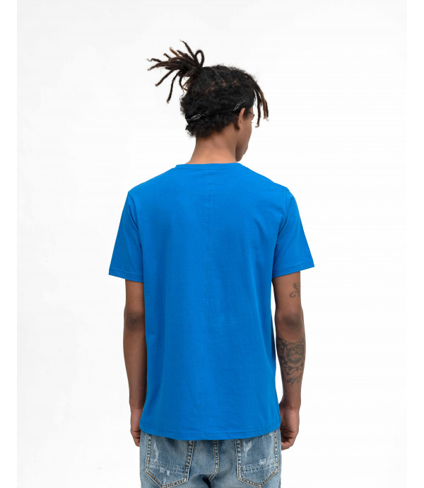 Royal blue basic t-shirt