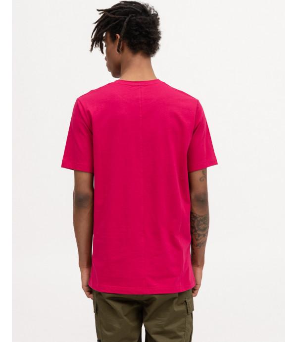 T-shirt basica magenta