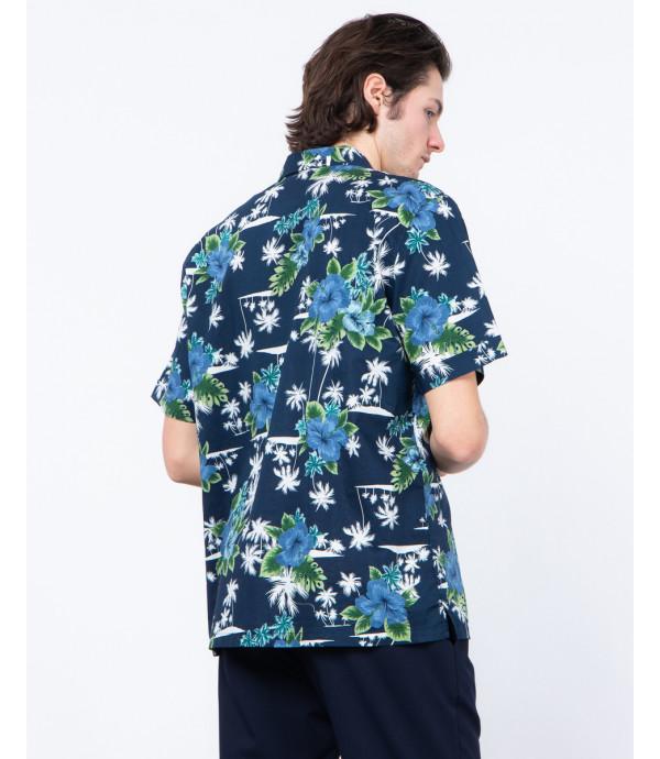 Printed hawaiian shirt