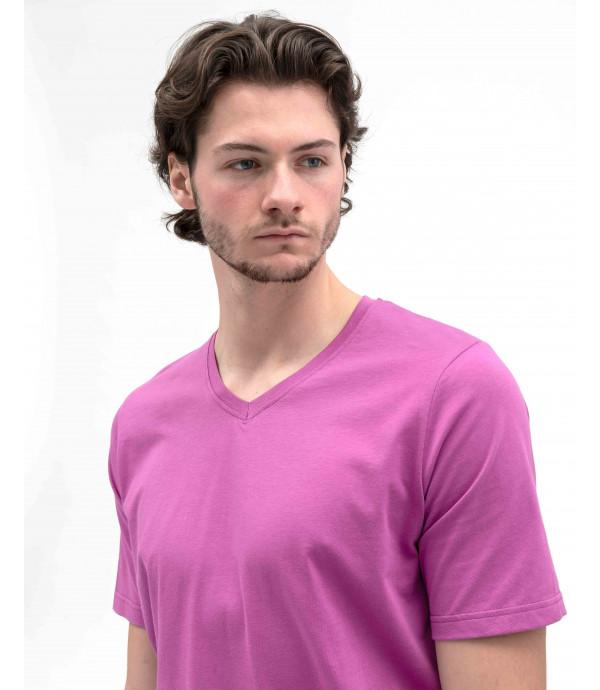 T-shirt Basic con scollo a V