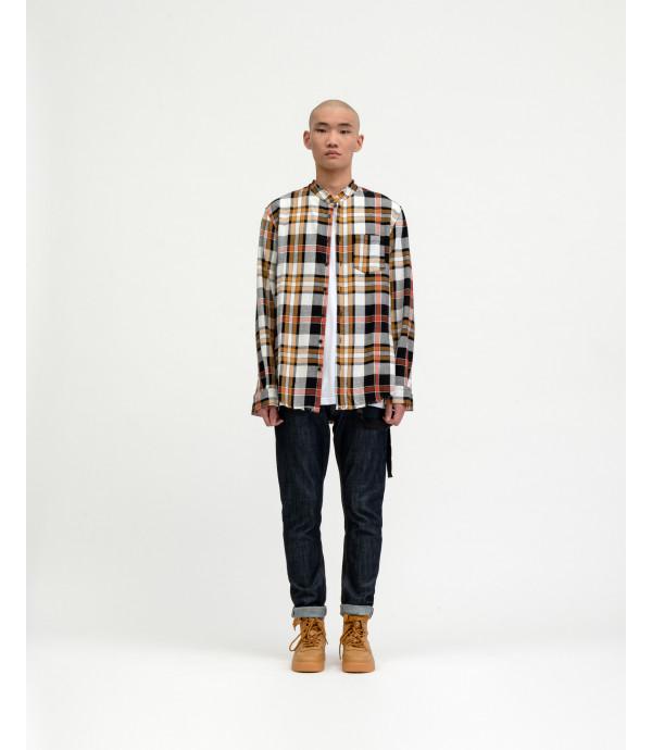 Overshirt OUTCOME a quadri