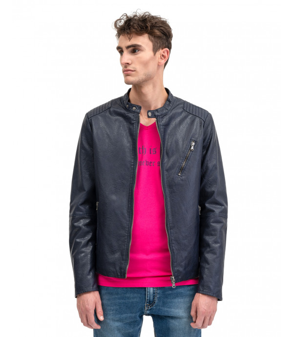 More about Faux-leather jacket