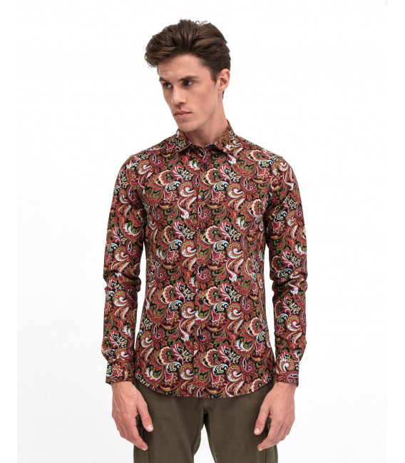 Parseley patterned shirt