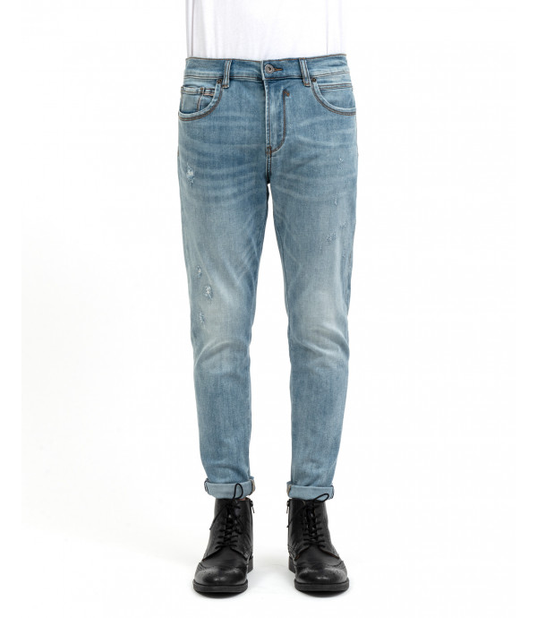 Skinny fit jeans light wash