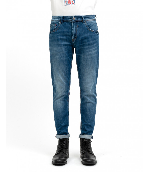 Skinny fit jeans in medium wash