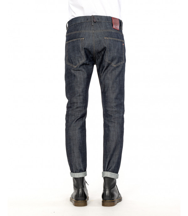 Regular fit rinse jeans