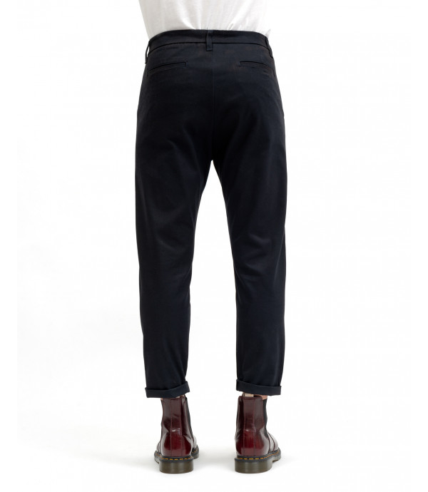 Chinos with pocket detail
