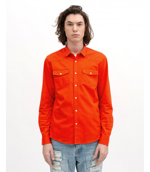 Color cotton shirt