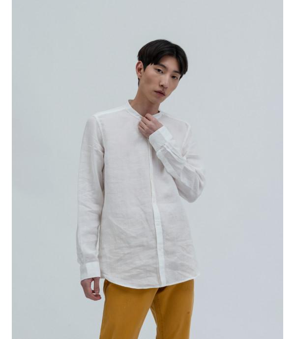 Di più su Camicia lino collo coreana