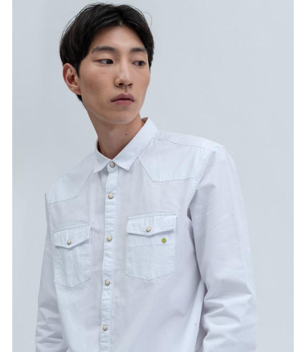 Camicia cotone colorata