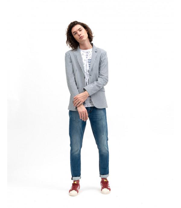 More about Striped blazer