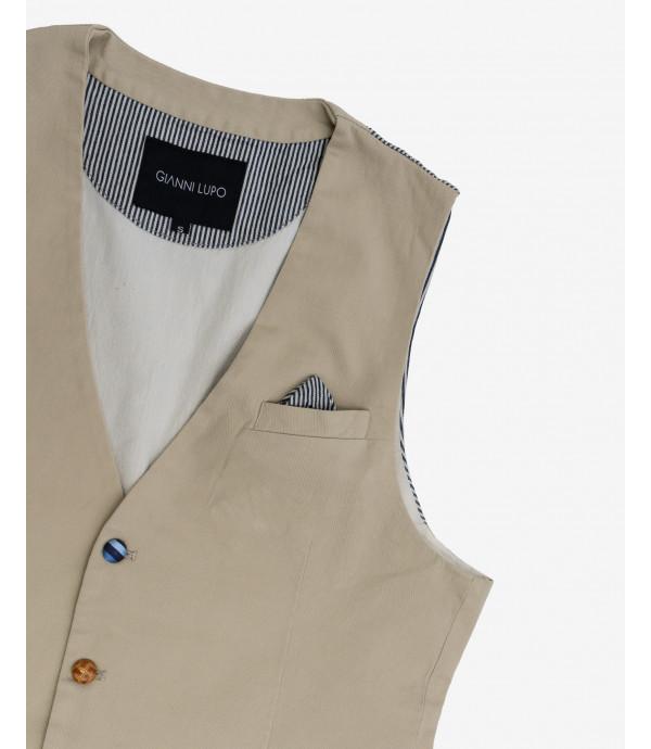 Fancy buttons waistcoat