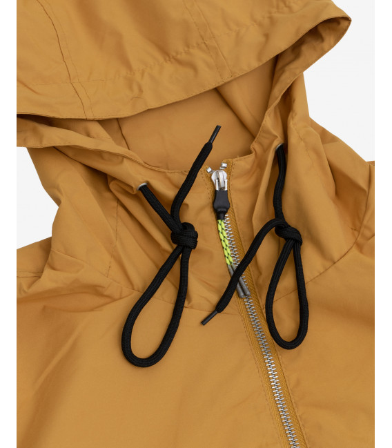 Technical jacket with hood