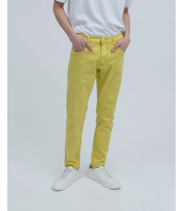 Jeans slim fit colorati
