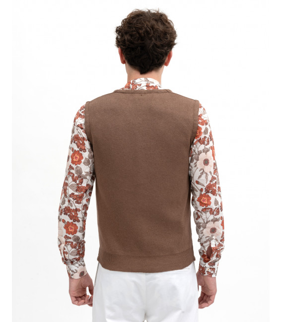 Knitted waistcoat