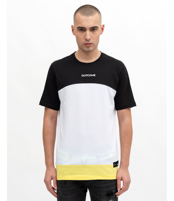 Color-block t-shirt