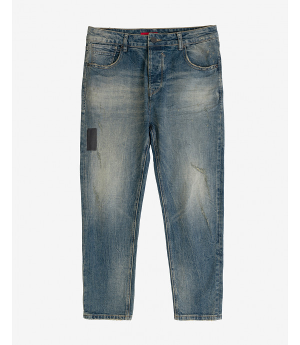 More about Bruce regular fit medium wash jeans