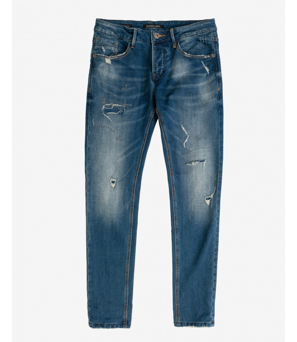 Jeans Bruce regular fit lavaggio medio