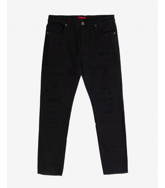 Jeans Bruce regular fit nero