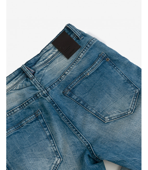 Kevin skinny fit medium wash jeans