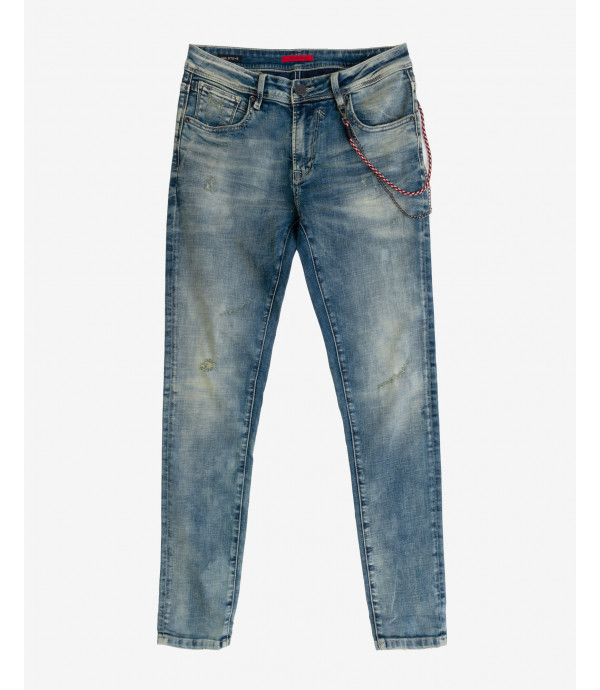 More about Steve super skinny fit stone washed jeans