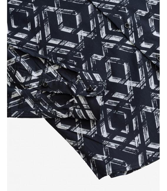 Geometric pattern shirt