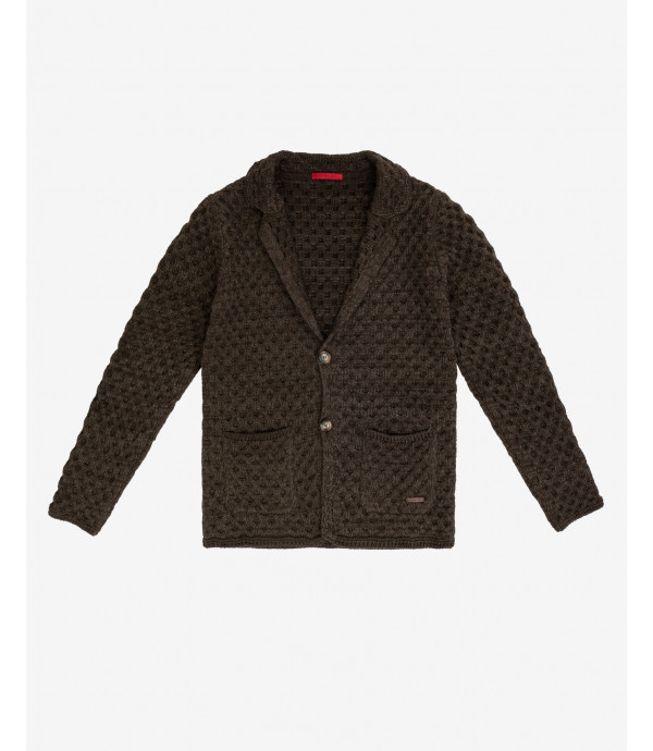 Two button knitted cardigan