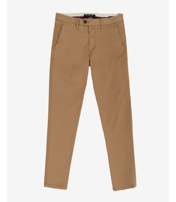 Slim fit basic chinos