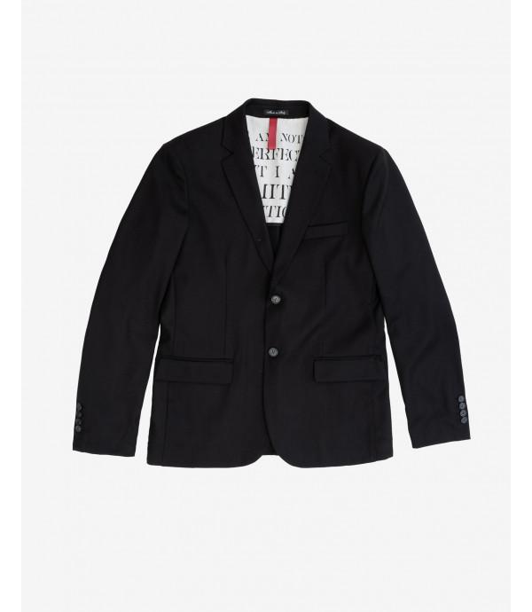 Solid colour stretch balzer jacket
