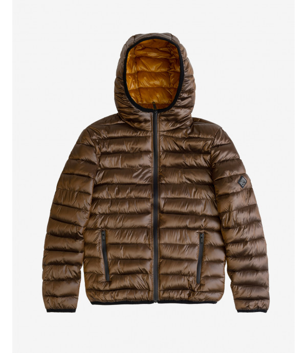 More about Basic hooded puffer jacket