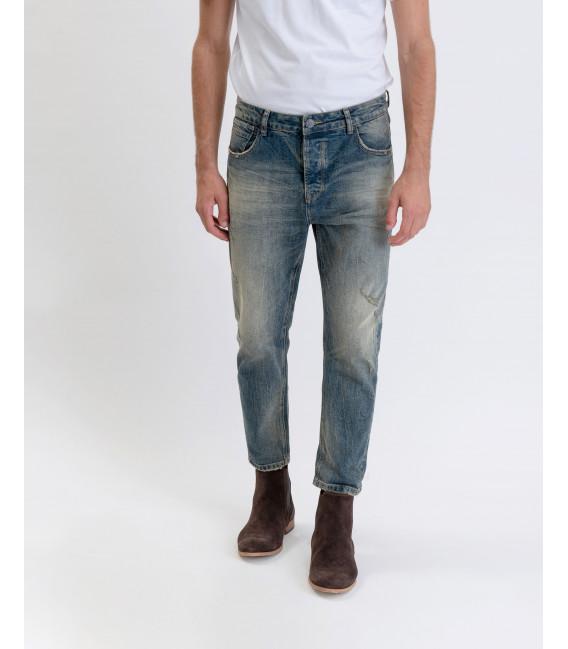 Jeans Bruce regular fit lavaggio chiaro