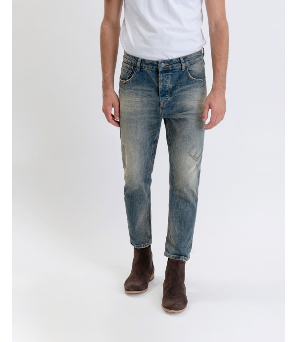 Bruce regular fit medium wash jeans