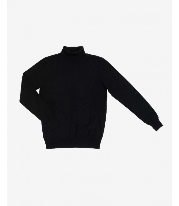 More about Patterned turtleneck jumper