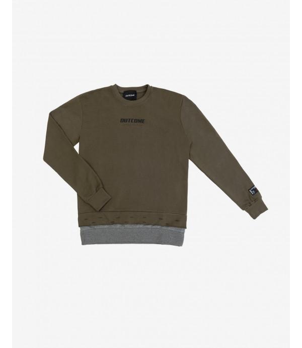 Crewneck logo sweater