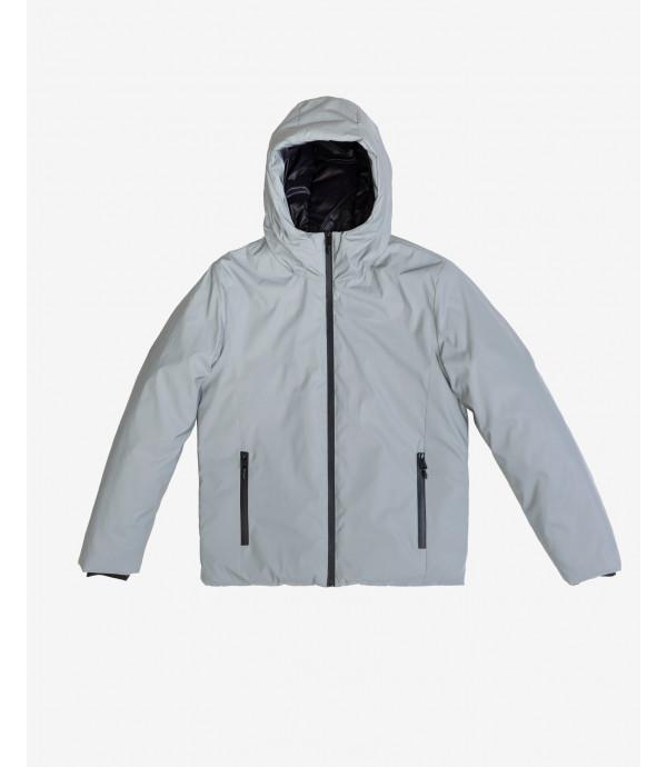 Padded long jacket