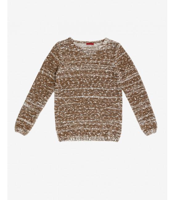 Boucle yarn jumper