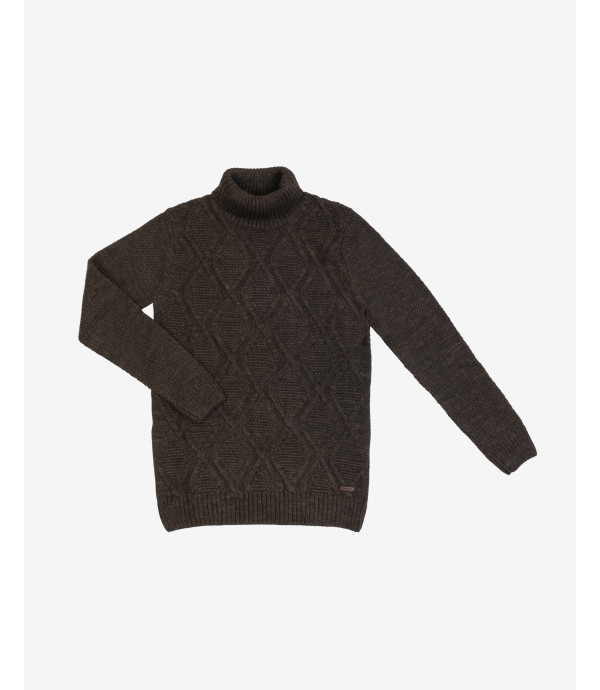 More about Cable knit turtleneck jumper