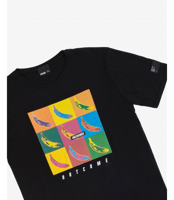 T-shirt multi censored